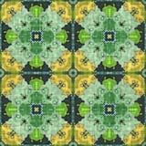 抽象几何马赛克例证 库存照片