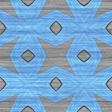 抽象几何马赛克例证 免版税库存照片