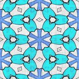 抽象几何马赛克例证 免版税库存图片