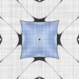 抽象几何马赛克例证 免版税图库摄影