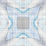抽象几何马赛克例证 图库摄影