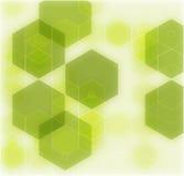 抽象几何绿色背景,传染媒介例证EPS10 图库摄影