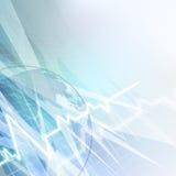 抽象分子医疗背景。 免版税库存图片
