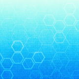 抽象分子医疗背景 向量例证