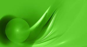 抽象分数维绿色图象 免版税库存图片
