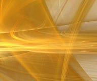 抽象分数维金子 向量例证