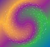 抽象分数维几何背景 向量 图库摄影