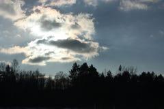 抽象分数维图象天空冬天 库存图片
