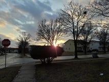 抽象分数维图象天空冬天 免版税库存照片