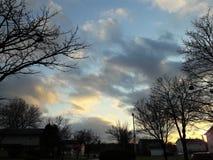 抽象分数维图象天空冬天 免版税图库摄影