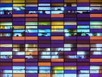 抽象办公楼 免版税图库摄影