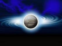 抽象包括的行星 库存图片