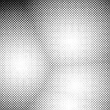 抽象半音光点图形背景-导航从圈子的设计 免版税图库摄影