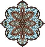 抽象华丽元素 织品的,纺织品,海报,卡片,盖子,网装饰样式 五颜六色的装饰品 印度人佩兹利mo 皇族释放例证