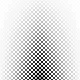 抽象单色圈子样式背景 免版税库存照片