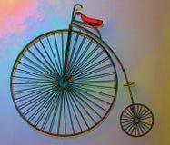 抽象单轮脚踏车 免版税库存图片