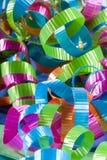 抽象卷曲的丝带 免版税图库摄影