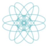 抽象原子图象 图库摄影
