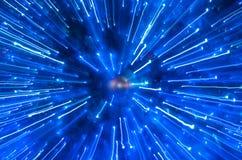 抽象原子 免版税库存照片