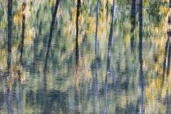 抽象反映水 免版税图库摄影