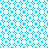 抽象反映的无缝的几何样式 向量例证