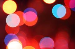 抽象发光的圈子 库存图片