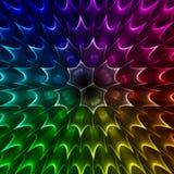 抽象发光的形状 免版税库存照片