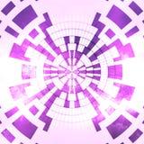抽象发光的白色桃红色紫罗兰色背景 免版税库存图片
