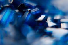 抽象发光的蓝色青玉背景 蠢材 背景 图库摄影