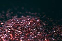 抽象发光的闪烁紫罗兰色构成背景 免版税库存照片