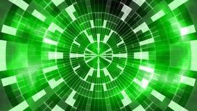 抽象发光的绿色数字式设计 库存图片
