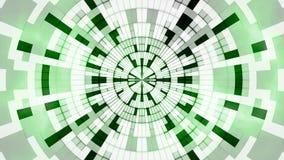 抽象发光的绿色数字式 免版税库存照片
