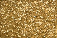 抽象古色古香的设计银 免版税图库摄影