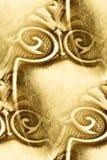 抽象古色古香的设计银 免版税库存照片