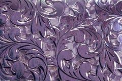 抽象古色古香的设计银 库存例证