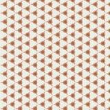 抽象和几何样式,米黄 库存例证