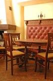 抽象咖啡馆 免版税库存照片