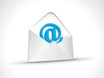 抽象图标邮件 库存图片