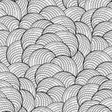 抽象图表贝壳样式 免版税库存照片