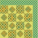 抽象图象、五颜六色的图表和挂毯它可以使用作为样式为织品 免版税库存照片