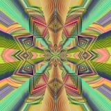 抽象图象、五颜六色的图表和挂毯 图库摄影