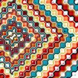 抽象图象、抽象图象、五颜六色的图表和挂毯 免版税库存图片