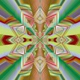 抽象图象,五颜六色的图表,挂毯 免版税库存图片