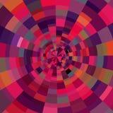 抽象圆五颜六色的背景 免版税库存照片