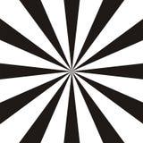抽象圆几何形状 黑白太阳光芒,射线元素 旭日形首饰, starburst样式 库存例证