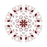 抽象圆样式伯根地 免版税库存图片