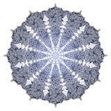 抽象圆样式,装饰品,例证 向量例证