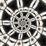 抽象圆的模式 库存图片
