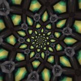 抽象圆的模式 免版税图库摄影