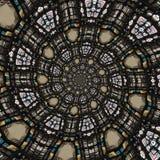 抽象圆的模式 图库摄影